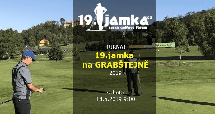Turnaj 19.jamky na Grabštejně 2019 (so 18.5.2019 9:00)