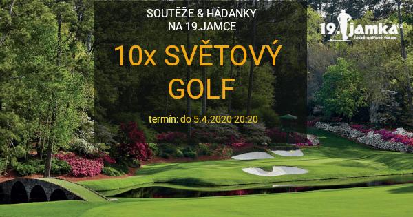 Vědomostní soutěž o světovém golfu (do 5.4.2020 20:20)